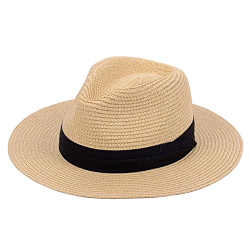 Verashome Panama Straw Hat Summer Beach Sun For Fashion Women Hat - Mall Vero Beach