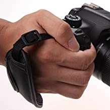 Hand Grip Strap PU Canon E2 Camera Wrist Strap for Canon SLR/DSLR For D800 D7000 D5100 D3200 for Canon EOS Nikon Sony Olympus