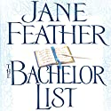 The Bachelor List: Duncan Sisters, Book 1 Audiobook by Jane Feather Narrated by Angele Masters