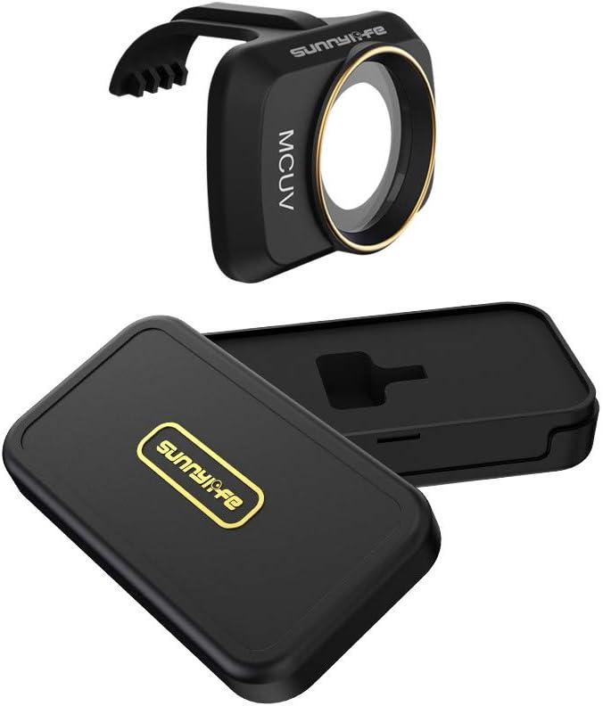 Vkarh Gimbal Lens Filter for DJI Mavic Mini Drone, MCUV CPL ND/PL 4/8/16/32 Professional Optical Glass Lens (MCUV)