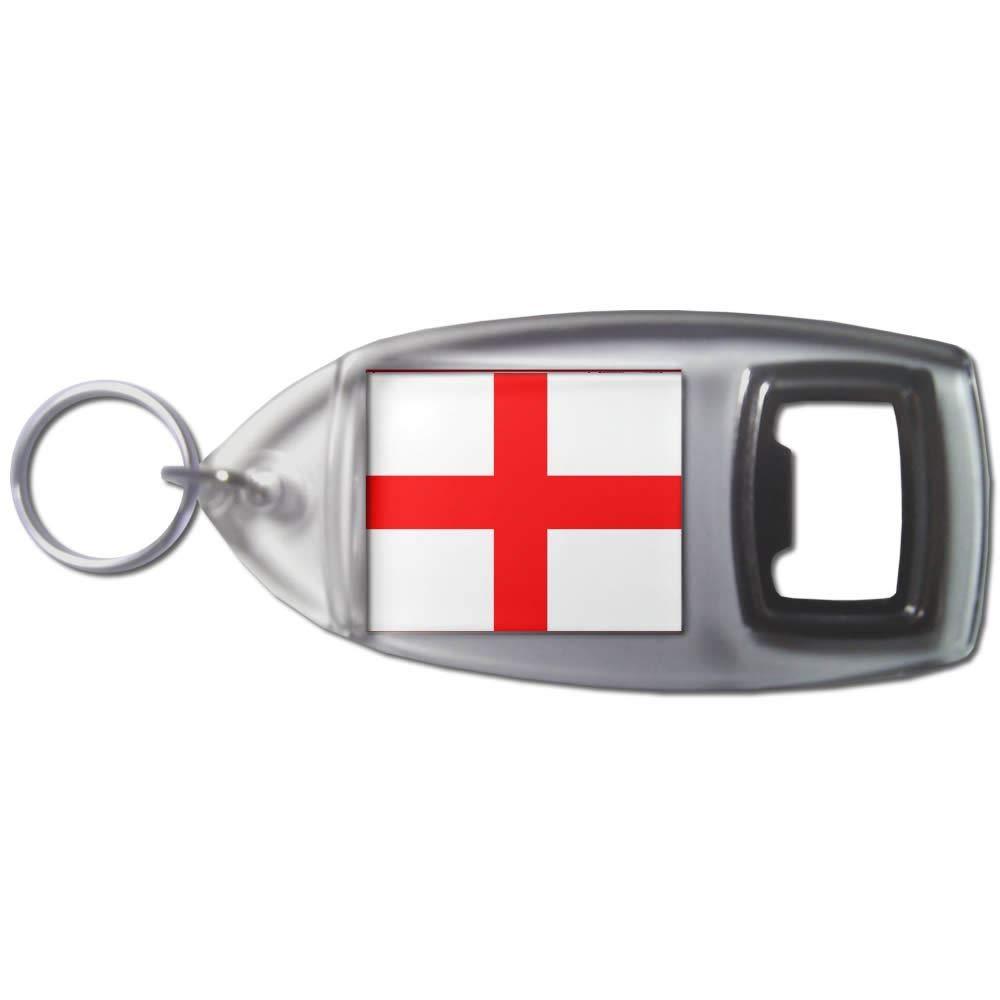 BadgeBeast.co.uk England Flag - Llavero abridor de botellas ...