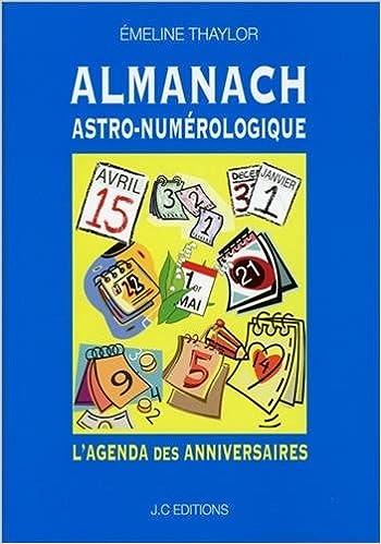 Almanach Astro-numérologique - L'agenda des anniversaires