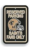 NFL New Orleans Saints Plastic Parking Sign
