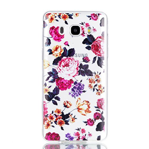 Qiaogle Teléfono Caso - Funda de TPU silicona Carcasa Case Cover para Xiaomi RedMi Note 4 / Redmi Note 4X (5.5 Pulgadas) - YY35 / Negro atrapasueños YY34 / Grandes Rosas