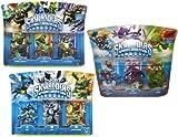 Skylanders Spyro's Adventure Exclusive Figure Set of 9 Includes: Zap , Hex , Dino-Rage , Lightning Rod , Cynder , Zook , Prism Break , Boomer & Voodood