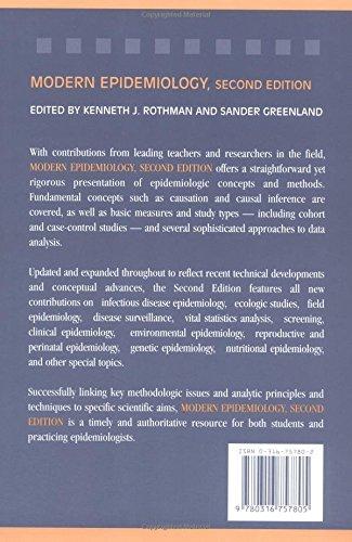 Modern Epidemiology Kenneth J Rothman Sander Greenland