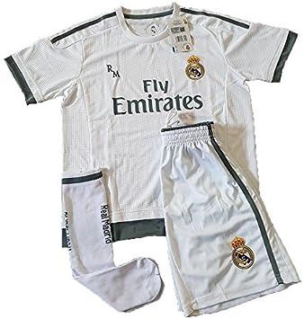 Equipación Infantil Completa Réplica Oficial Real Madrid Temporada ...