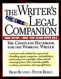 Writer's Legal Companion, Brad Bunnin and Peter Beren, 073820031X