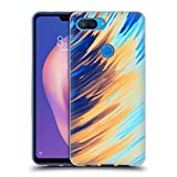 Official Andi Greyscale Two Sides of One Extreme Abstract Marbling Soft Gel Case Compatible for Xiaomi Mi 8 Lite/Mi 8X