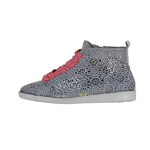 Dude Shoes Women's La Joux Macrame Grey Grey