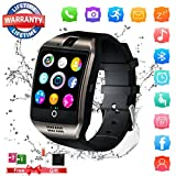 Bluetooth Smart Watch, Touch Screen Smart Watch with Camera Unlocked Watch Cell Phone Wrist Watch Sports Fitness Tracker Support iOS iPhone Android Samsung LG for Men Women Kids