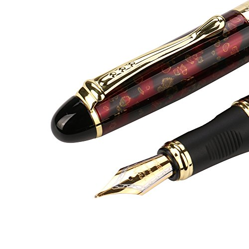 X750 Deluxe Fountain Pen -Gbell Matte JinHao 0.5mm Extra Fine Nib Fountain Pen by Gbell  (Image #3)