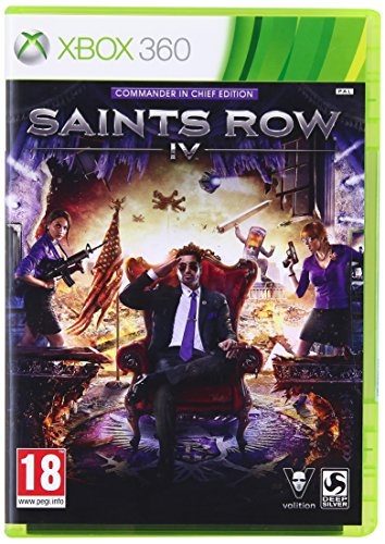 THQ – Saints Row IV (4) Commander in Chief Edition /X360 (1 Games) (Xbox 360)