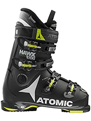 Atomic Hawx Magna 100 Ski Boots - 31.5/Black-Lime