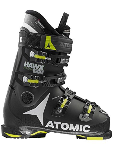 Atomic Hawx Magna 100 Ski Boots - 31.5/Black-Lime