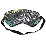 HSHISKH Men And Women Leo Zebra Animal Print Mask For Sleeping 3d, Hot Ice Cover Sleep Blackout Breathable Sleeping Goggles