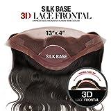 "Beautiful Hair Unprocessed Virgin Remi Human Hair Silk Base 13""x4"" 3D Lace Frontal Closure Natural Body Wave (NATURAL) (14"")"