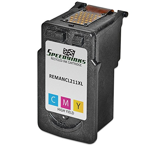 Speedy Inks - 2pk Canon CL-211XL High Yield Color Remanufactured Inkjet Cartridge for use in PIXMA iP2700, PIXMA iP2702 , PIXMA MP230, PIXMA MP240, PIXMA MP250, PIXMA MP270, PIXMA MP280 Photo #2