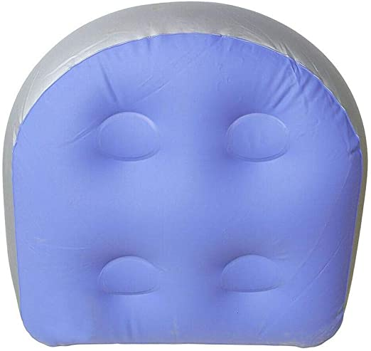 Dianqin14 - Asiento de spa multifuncional con ventosa para bañera de hidromasaje, cojín inflable de relleno, almohadilla de agua, ideal para adultos o niños