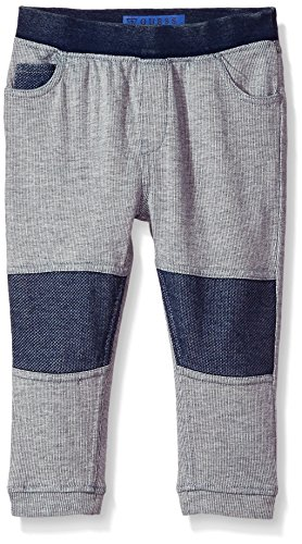 Guess Baby Clothes - GUESS Baby Boys' Fleece Bottom, Light Heather Grey 6/9M