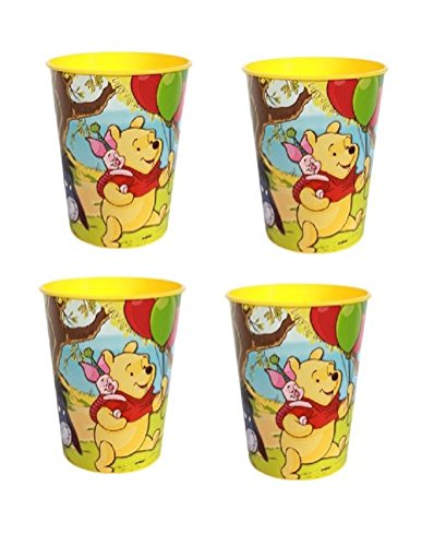 Disney Winnie the Pooh Plastic Cup with Tigger Piglet Eeyore - 4 -