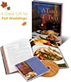 Table for Two Menus and Music® Gift Boxed Set (Menu Book & CD Set)