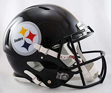 Riddell NFL Pittsburgh Steelers Speed Mini - Casco de fútbol ...