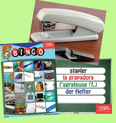 Classroom Nouns Bingo & Flashcard Set (2010)