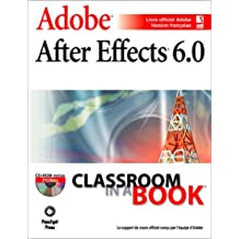 After effects 6.0 classroom in a book