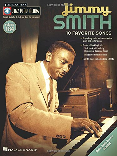 Smith Piano Sheet Music (Jimmy Smith: Jazz Play-Along Volume 184)