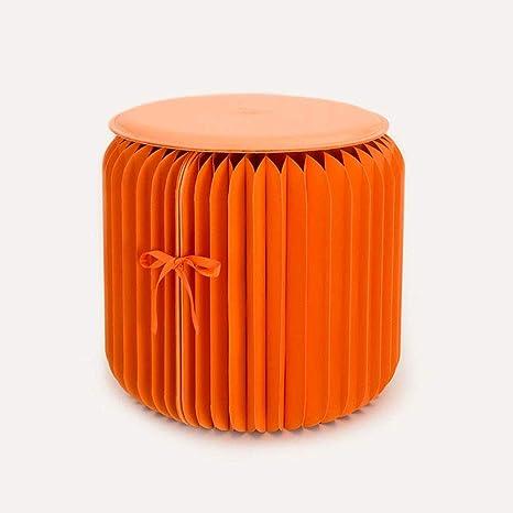 Diseño moderno plegable papel taburete sillón silla Kraft ...
