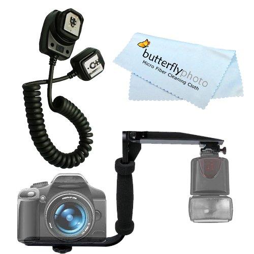 UPC 628586122291, Rotating Flash Bracket Grip + TTL Off -Camera shoe Sync Cord for OLYMPUS FL-CB05 E-1