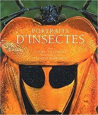 Portraits d'insectes par Claire Villemant