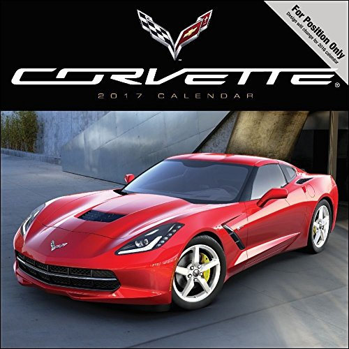 TF Publishing Corvette 2017 Wall Calendar