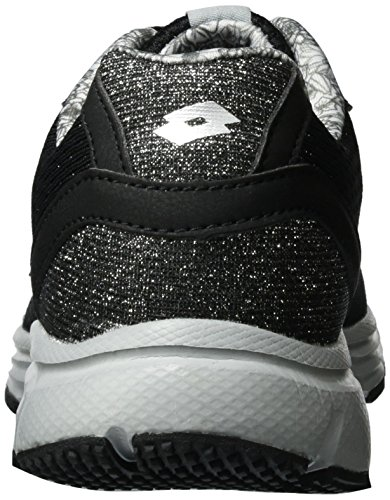 Lotto Superlight One W, Zapatillas para Mujer Negro (Blk/slv Mt)