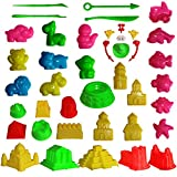 Mukool Sand Molding Tools 42pcs Mold Activity Set Compatible with Any Molding Sand