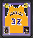 Lakers Magic Johnson Authentic Signed & Framed