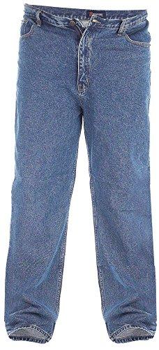 Comfort Fit Jeans, Taille 40–60, bleu délavé