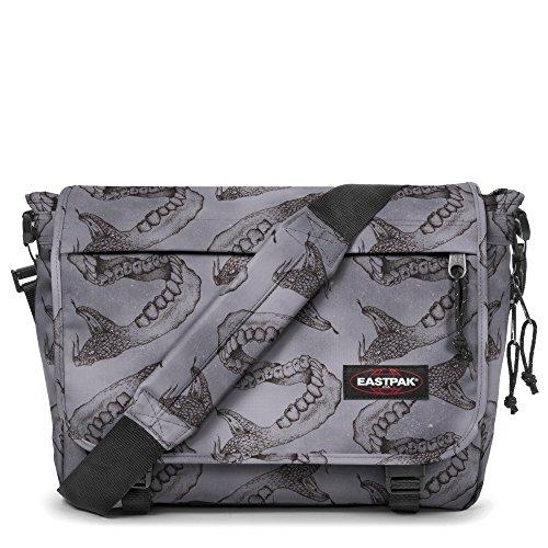 Eastpak - Mochila casual Unisex brownie leather talla única Varios Colores (Dark Snakes)