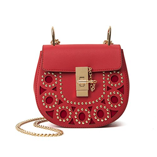 St.Roma - Bolso mochila  de Piel Sintética para mujer Talla única Red