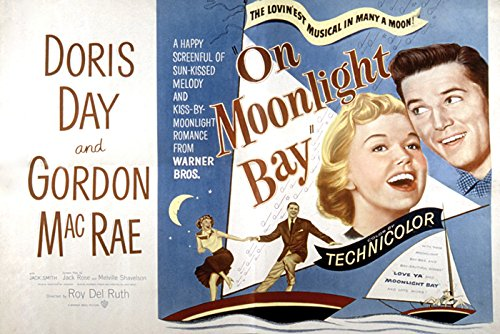 Moonlight Bay Poster (On Moonlight Bay Movie Poster or Canvas)