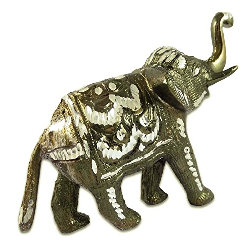 Animal Statue Elephant Collectibles Sculpture Aluminum Showpiece Table Decor