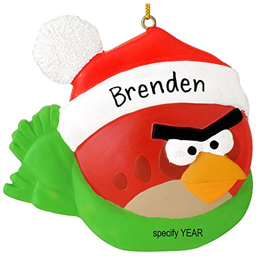 Angry Bird Christmas Ornaments - Red Angry Bird Ornament