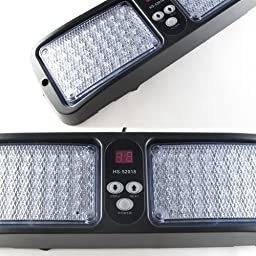 New Amber Commercial Truck Boat Car 86-LED Strobe Lights Flash Mode #74A