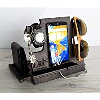 Father's Day Gift, Docking Station, Gift for Dad, Christmas Gift, Anniversary Gift, Gift for Husband, Gift for Him, Gift for Men, Personalized Gift