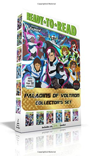 Paladins of Voltron Collector's Set (with More Than 30 Stickers!): Allura's Story; Keith's Story; Lance's Story; Shiro's Story; Pidge's Story; Hunk's Story