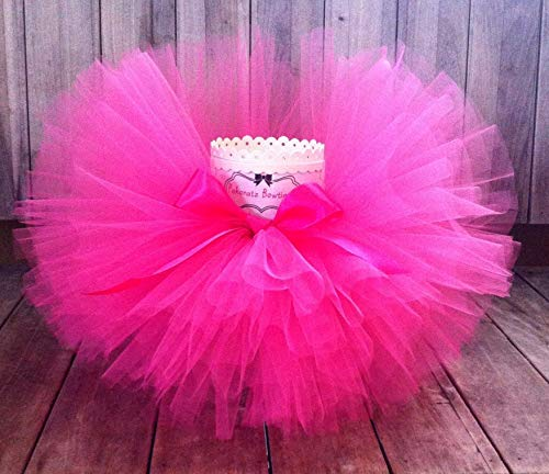 Hot Pink Tutu, Baby Tutu, First Birthday Tutu, Photo Prop Tutu, Girls Tutu, Infant Tutu, Newborn Tutu