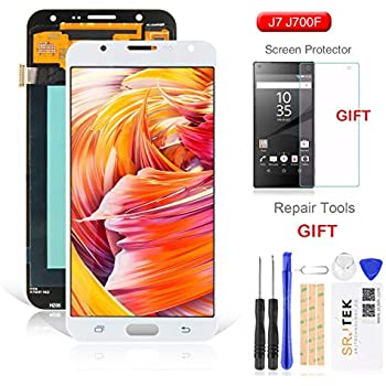 For Samsung J700 LCD Screen Replacement SRJTEK Galaxy J7 2015 J700T J700F J700H J700M SM Touch Digitizer