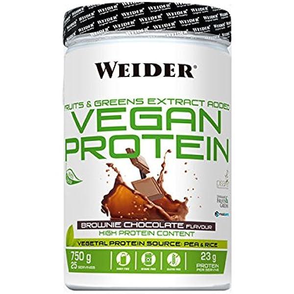 Weider Vegan Vegan Protein - 750 gr Iced Capuccino: Amazon ...