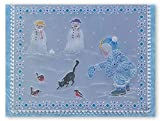Groovi Parchment Embossing Template ~ Winter